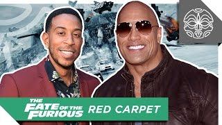 """THE ROCK TAKES OVER NEW YORK CITY DURING """"THE FATE OF THE FURIOUS"""" PREMIERE"""