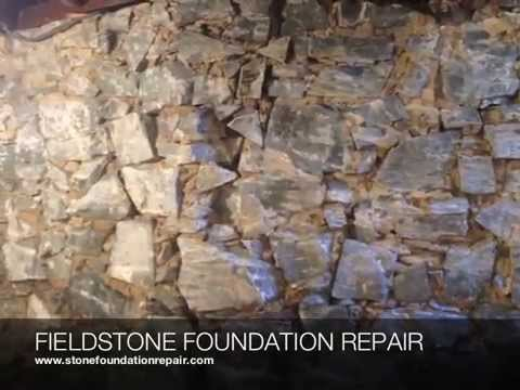 Done right services fieldstone foundation repair basement for Old house foundation types