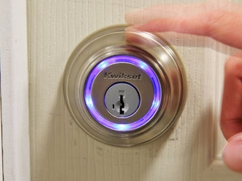 Take a look at the new Kwikset Kevo Bluetooth Door Lock