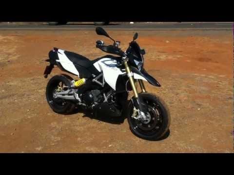 2013 Aprilia Dorsoduro 1200 ABS in India walkaround