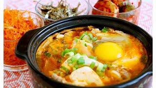 著名韓國豆腐煲的家庭做法【美食天堂 CiCi's Food Paradise】