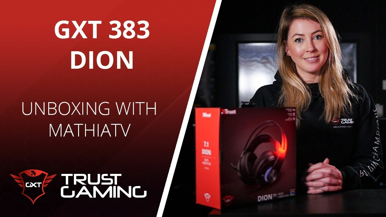 Unboxing The GXT 383 DION 7.1 Bass Vibration Headset - YouTube c7e1f5f802