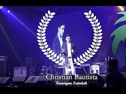 CHRISTIAN BAUTISTA [ SING INDONESIAN SONG ]