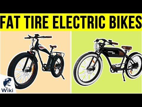 10 Best Fat Tire Electric Bikes 2019