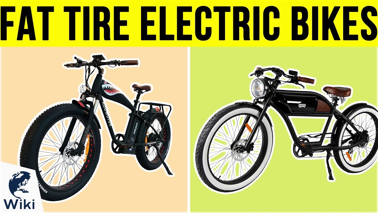 Top 10 Fat Tire Electric Bikes of 2019 | Video Review
