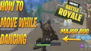 Funny Fortnite Glitch | How To Dance While Moving/Jumping!