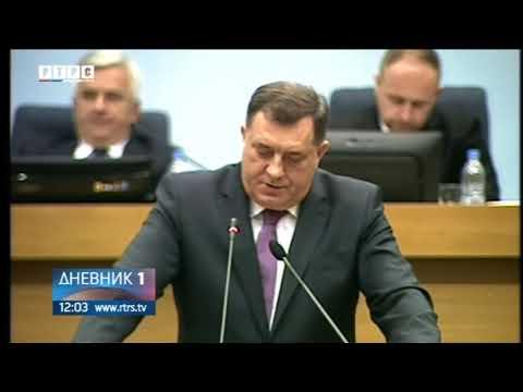 Dodik u NSRS: Država Republika Srpska ima pravo da odlučuje