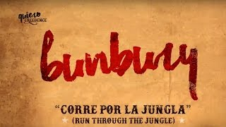 Enrique Bunbury - Corre Por La Jungla (Run Through the Jungle) (Lyric Video)