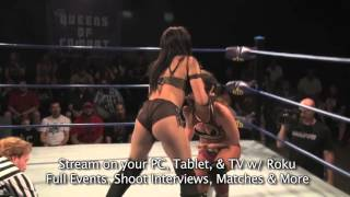 Free Match: Tessa Blanchard VS Hania The Huntress