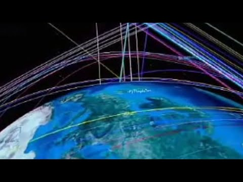 Space junk yard - The Satellite Story - BBC science