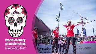 Korea v Mexico – Recurve Women Team Gold final | Mexico City 2017