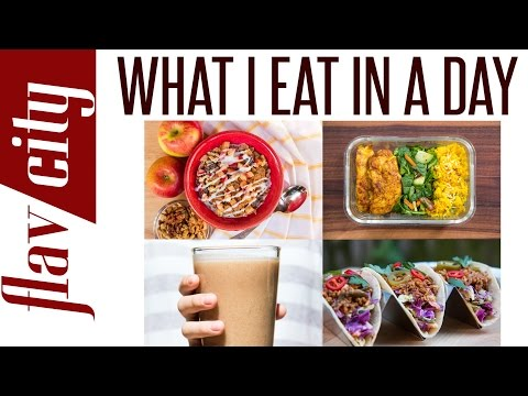 What I Eat In A Day – Recipes For Breakfast Lunch And Dinner