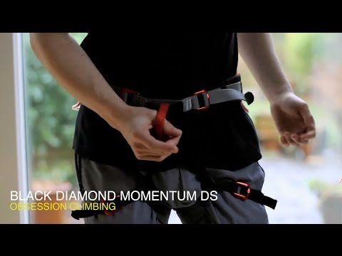 Black Diamond Momentum Klettergurt Test : Review black diamond momentum ds climbing harness youtube