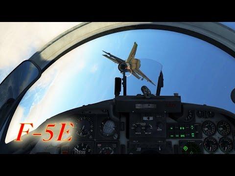 DCS: Two F-5E vs Four MiG-21bis [21:9]