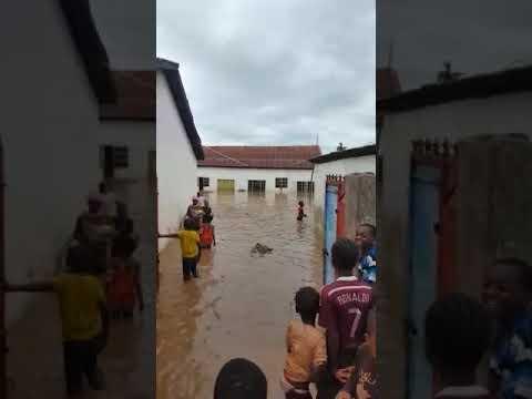 Big flood at Manjai Kunda