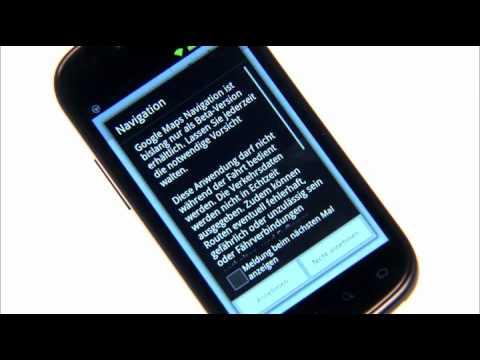 Google Samsung Nexus S - Bedienung mit dem Automodus