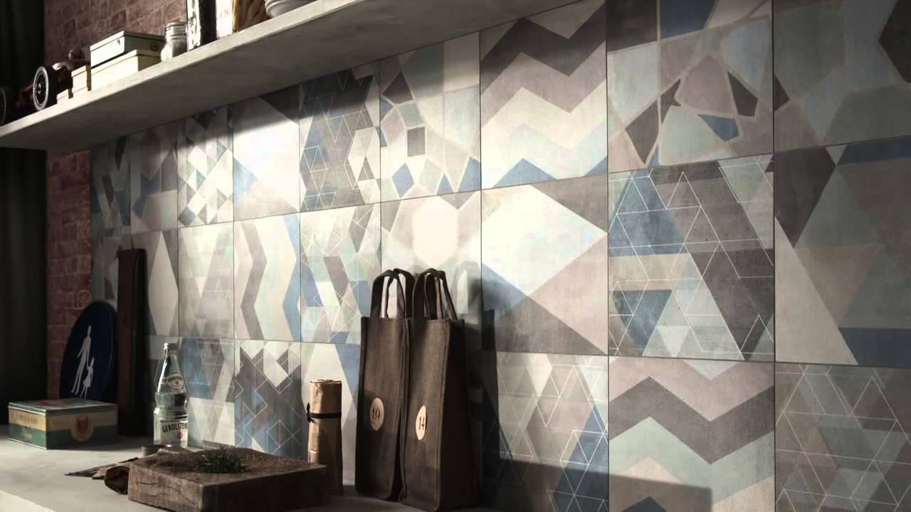 Ceramic Tile Trends 2014/2015: Cementine - YouTube