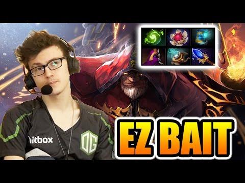 Miracle- Dota 2 [Warlock] Easy Bait WIN The Game