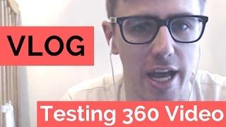 Testing GoPro 360 / Virtual Reality Setup for Church    #VLOG 2