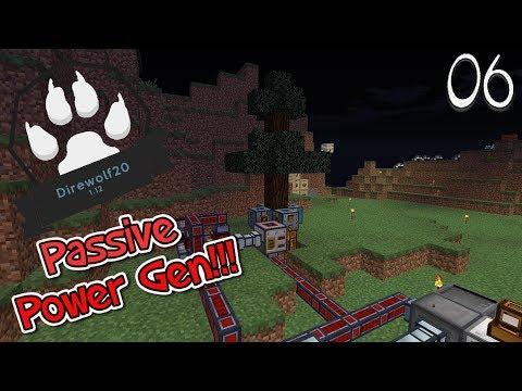 Lets Play Minecraft Direwolf20 1.12 - Passive Power Gen (6)