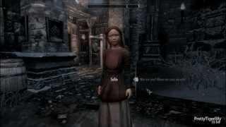 Skyrim-Hearthfire: Sophie, the orphan flower girl from Windhelm