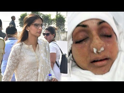 EMOTIONAL Sonam Kapoor Breaks Down Seeing Sridevi's Condition After PASSING AWAY