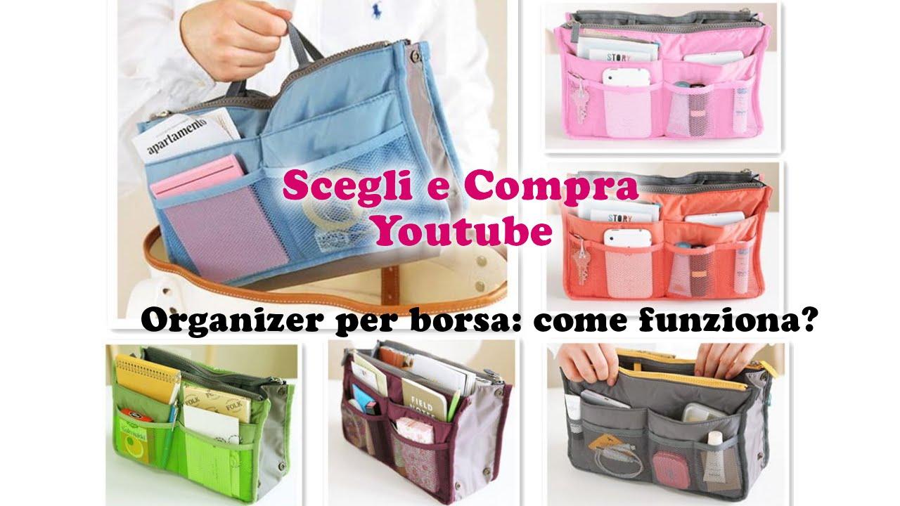 negozio online 7f44f 728d4 Organizer per borsa: come funziona?
