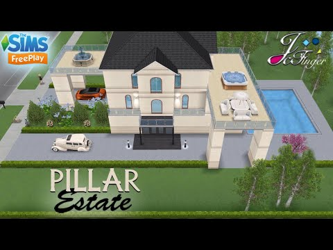 Sims FreePlay 🏛♟| PILLAR ESTATE |♟🏛  By Joy.