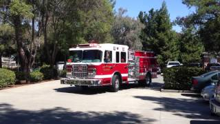 SRVFPD Paramedic 31 and Engine 31 Responding
