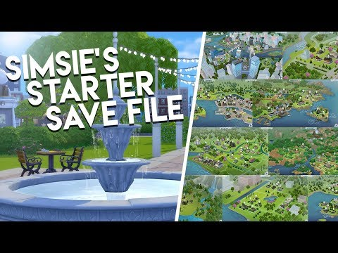 I REMADE EVERY WORLD?! (AGAIN) // The Sims 4: Save File Download