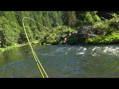 Middle Fork Feather River Fishing - 6/23/18