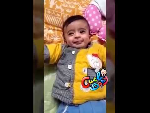 5 month old baby playing with Toys