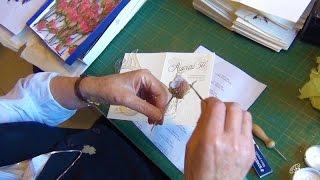 Biglietti artigianali - Paola Baldo, fsp