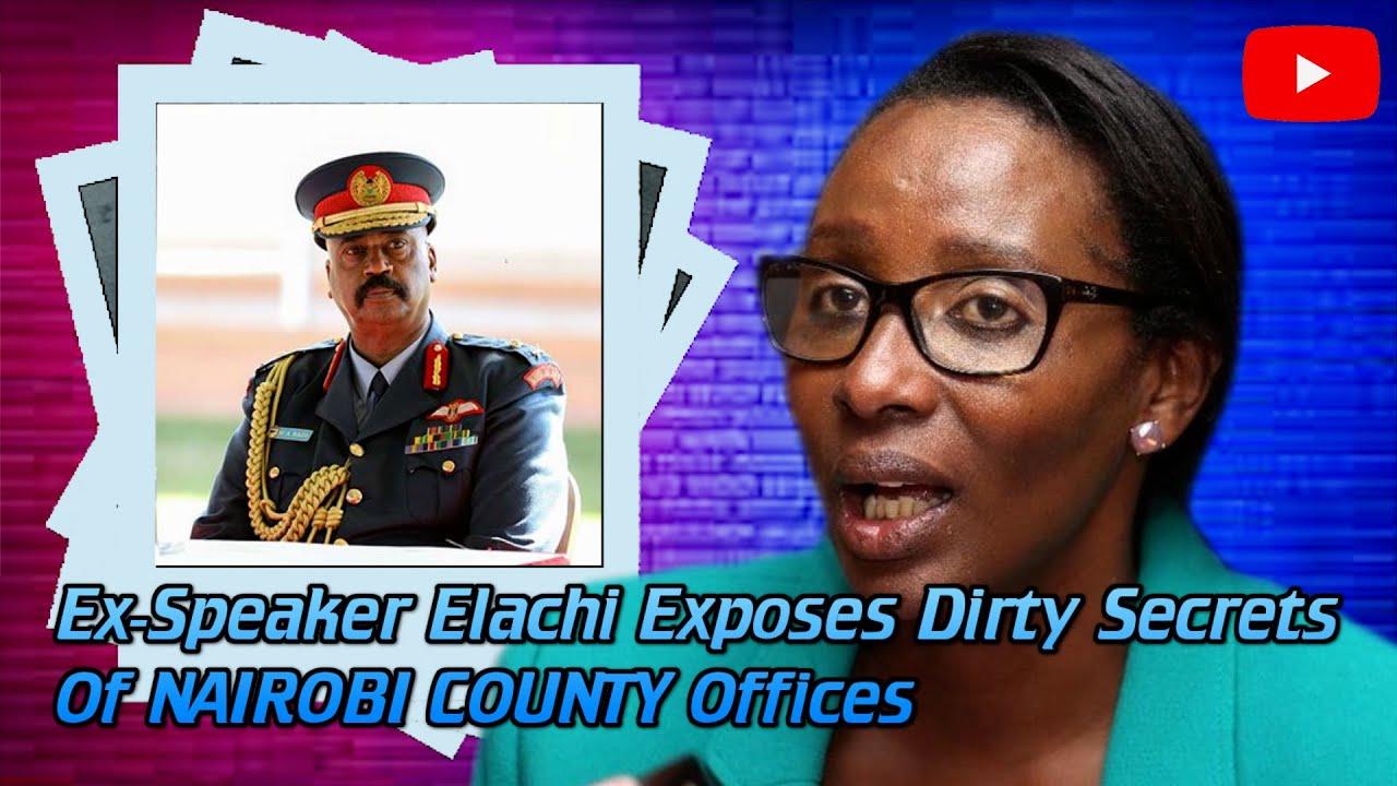 Download Ex-Speaker BEATRICE ELACHI Exposes Cartels Who Runs Nairobi Behind The Scenes  News54!