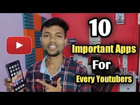 Top 10 Important Apps For Every Youtubers
