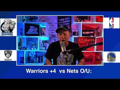 Golden State Warriors vs Brooklyn Nets 2/13/21 Free NBA Pick and Prediction NBA Betting Tips