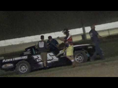 Jake Stefanski win at Ransomville Speedway 6/16/17