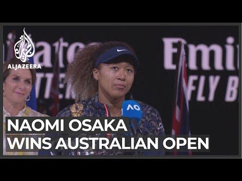 Tennis: Osaka cruises to second Australian Open title