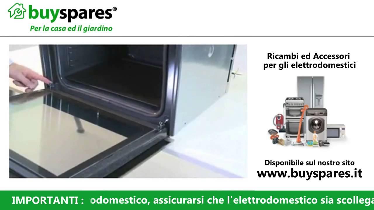 Come rimuovere la porta da un forno youtube - Porta forno ariston ...