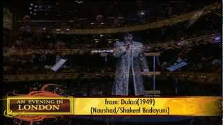Sonu Nigam - Suhaani Raat Dhal Chuki - An Evening In London