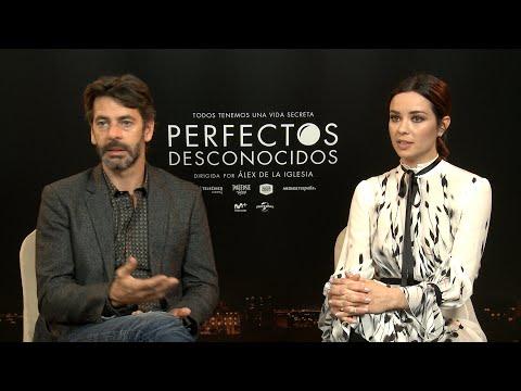 Dafne Fernández y Eduardo Noriega de Perfectos desconocidos