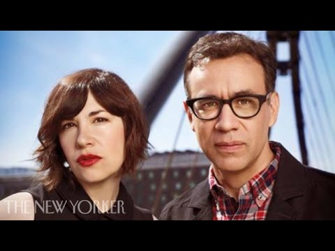 Fred Armisen, Carrie Brownstein, and Jonathan Krisel on