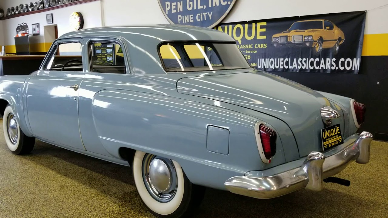 1951 Studebaker Champion coupe for sale