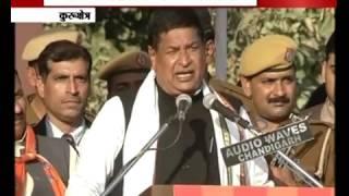MP Rajkumar Saini lashes out Jat leaders in Kurukshetra