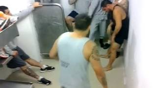 Fights in the prison