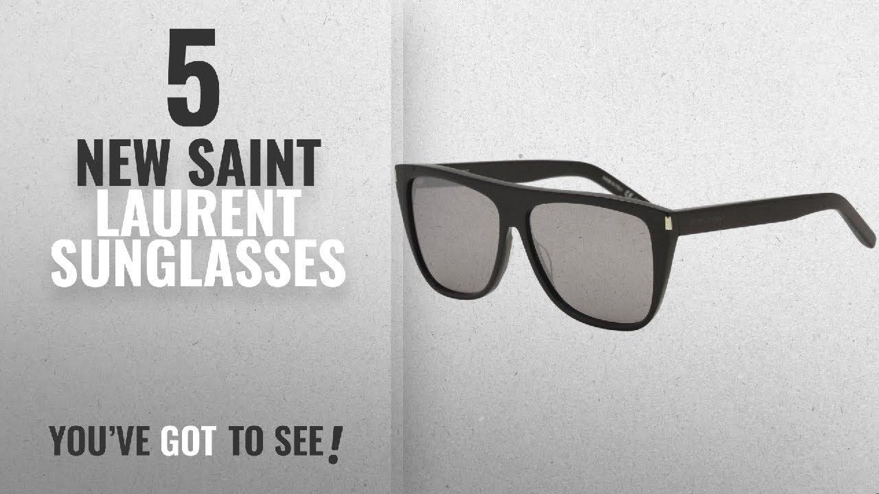 564e5d0e87962e Top 10 Saint Laurent Sunglasses   Winter 2018    Saint Laurent SL1 ...