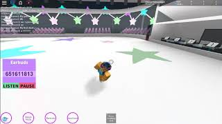Roblox- Thinking out loud iceskating routine