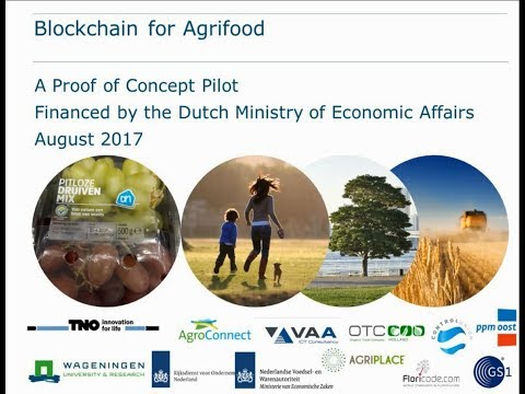 Blockchain for agrifood: proof of Concept application