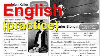 Английский язык - практика - Активный и Пассивный залог