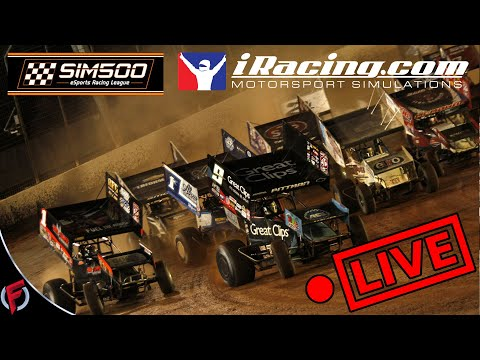 iRacing Sim500 360 Sprints At Eldora Speedway  *May Contain Adult Language*
